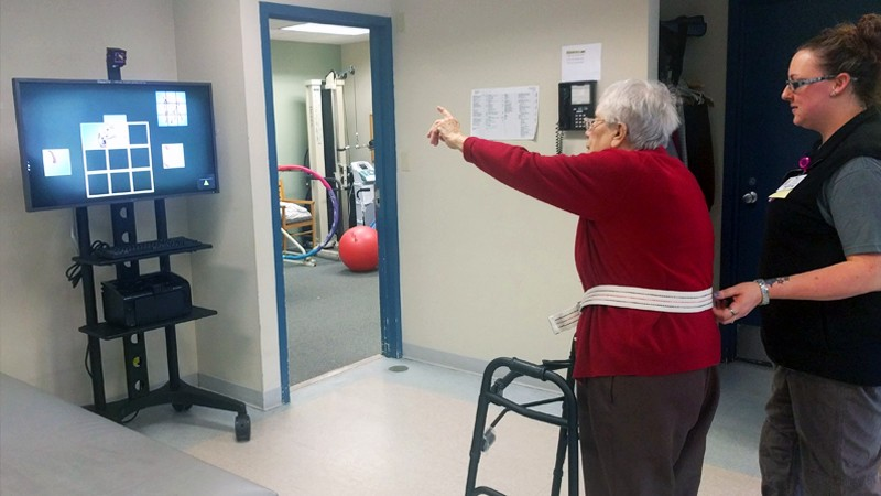 Cutting Edge Equipment Helps Seniors at Daughters of Sarah Rehabilitation Center